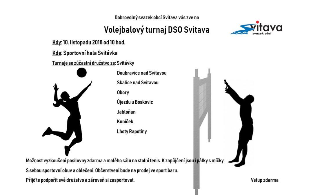 Volejbalový turnaj DSO Svitava