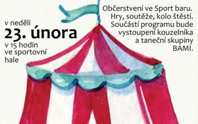 Dštský maškarní karneval 23.2