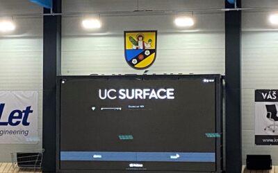 Nová obrazovka na hale